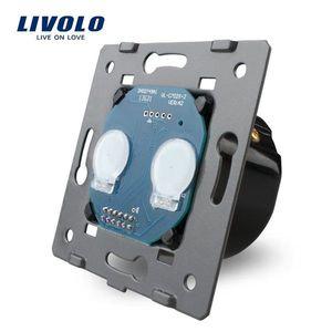 Modul intrerupator dublu cu touch LIVOLO imagine