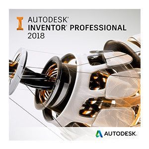 Autodesk Inventor Professional 2018 Commercial 1 an 1 user SPZD imagine