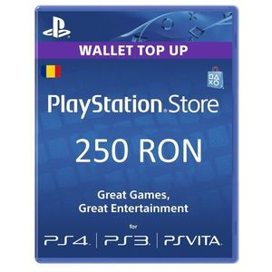 Card Sony PlayStation Store 250 RON imagine
