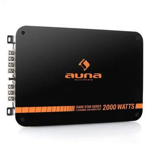 Auna Dark Star 2000 Amplificator auto 2 canale 2000W imagine