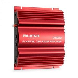 Auna C500.2. amplificator auto- 2 canale, 2 x95 W RMS imagine