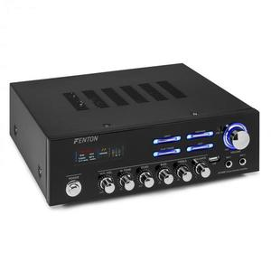 Fenton AV120BT, amplificator stereo HiFi, 120 W RMS, (2 x 60 W la 8 Ohm), BT / USB / AUX imagine