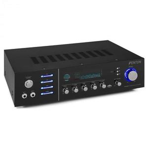 Fenton AV320BT, amplificator stereo HiFi, 200 W RMS, (2 x 100 W la 8 Ohm), BT / USB / AUX imagine