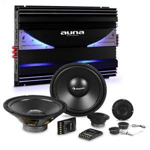 Auna CS Comp-10 auto Hi-Fi set 6 canale set de difuzoare amplificator & 6 canale Endstuf imagine