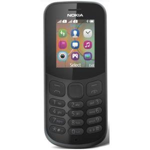 Telefon Mobil Nokia 130 (2017), Dual Sim (Negru) imagine