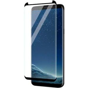 Folie Protectie Sticla Securizata Zmeurino Full Body 3D Curved pentru Samsung Galaxy S9 (Negru/Transparent) imagine