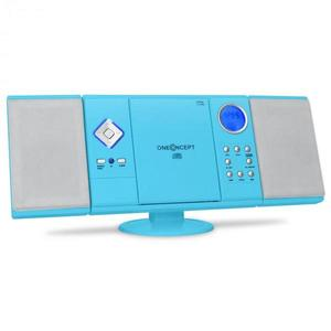 OneConcept Sistem audio stereo V-12 Albastru imagine