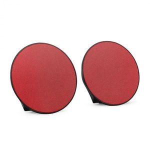 OneConcept DynaSphere difuzor Bluetooth portabil roșu AUX imagine