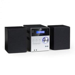 Auna MC-20 DAB Micro stereo Bluethoot, control de la distanta, argintiu imagine
