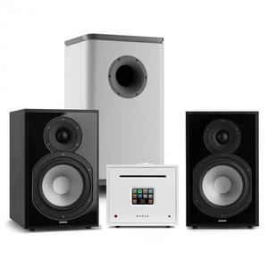 Numan Unison Reference 802 Edition, sistem stereo, amplificator, boxe, negru / alb imagine