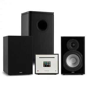 Numan Unison Reference 802 Edition, sistem stereo, amplificator, boxe, negru imagine