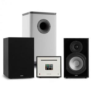 Numan Unison Reference 802 Edition, sistem stereo, amplificator, boxe, negru / gri imagine