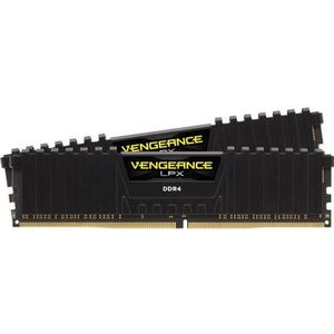Memorii Corsair Vengeance LPX Black DDR4, 2x8GB, 2400 MHz, CL 16 imagine