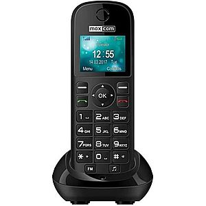 Telefon fix Maxcom MM35D, Single SIM, 2G (Negru) imagine