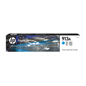 Cartus Inkjet HP 913A PageWide Cyan 3K imagine