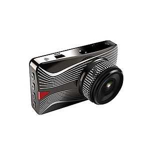 "Camera Auto DVR Novatek T613 FullHD Carcasa Metalica Display 3"""" imagine"