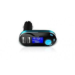 Modulator FM si Car Kit, BG01 cu Telecomanda, compatibil MicroSD, 2x USB, jack 3.5mm imagine