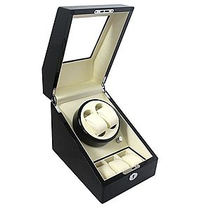 Watch Winder 2 + 3 Dispozitiv pentru intoarcere ceasuri automatice imagine