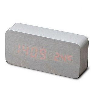 Ceas de masa LED cu alarma si termometru imagine