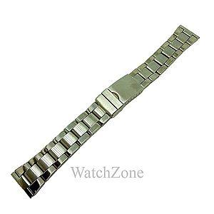 Bratara ceas din otel inoxidabil argintiu 18mm 20mm 22mm 24mm imagine