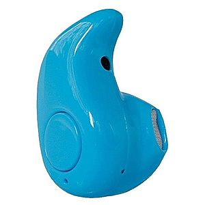 Casca Bluetooth Mini iUni CB02, Handsfree, Blue imagine