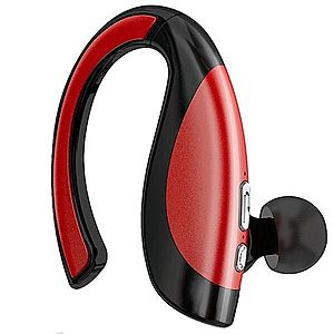 Casca Bluetooth iUni CB06, Red imagine