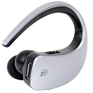 Casca Bluetooth cu Touch iUni CB05, Handsfree, Silver imagine