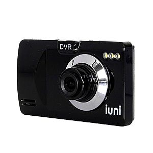 Camera auto DVR iUni Dash P818, HD, LCD 2, 5 inch, Unghi de filmare 120 grade, Playback imagine