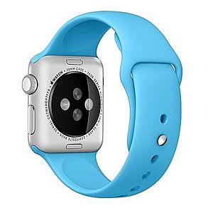 Curea pentru Apple Watch 42 mm Silicon iUni Blue imagine