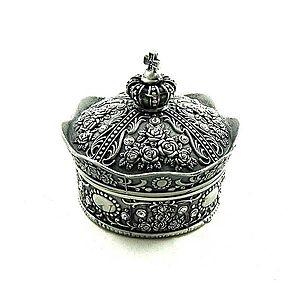 Caseta bijuterii metalica King's Crown WZ1669 imagine