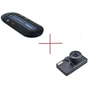 Set Promo Camera Auto T619 + Car Kit Handsfree NAT1800 imagine