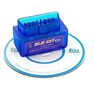 Interfata tester auto multimarca, ELM 327, prin Bluetooth, OBD2 V2.1 imagine
