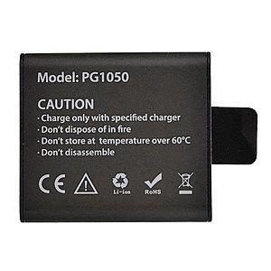 Acumulator Reincarcabil PG1050, compatibil cu EKEN, SJCAM, si orice Camera Sport OEM, Li-Ion 1050mAH imagine