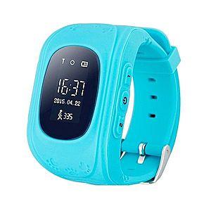 Ceas Smartwatch pentru Copii Albastru Q50 Slot Cartela SIM, GPS Tracker, Buton Urgenta SOS, Monitorizare Live imagine