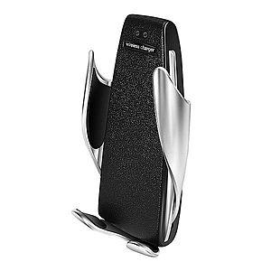 Suport Incarcator Telefon Auto Smart Techstar® S5 Wireless InfraRosu 360° Fast Charge Universal Android si iOS 4 - 6.5 inch imagine