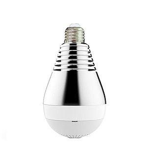 Bec LED Smart Techstar® Supraveghere Video Camera Panoramica 360 grade FullHD 1080P Wireless 2MP Socket E27 V387 imagine
