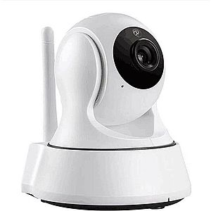 Camera de Supraveghere Interior IP Pan/Tilt Smart Wireless Wi-Fi Techstar® RL-23 HD 720P Android si IoS imagine
