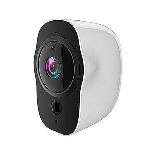 Camera Smart Techstar® RL113 IP, Waterproof IP65, Nightvision IR, Acumulator 4000mAh, FullHD 2Mpx, Pan/Tilt Smart, Android&iOS imagine