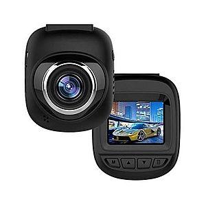 "Camera Video Auto DVR Mini FullHD Techstar® RL-127, display 1.5"""", unghi 150° cu Parking Mode, Senzori de Miscare si Night Vision imagine"