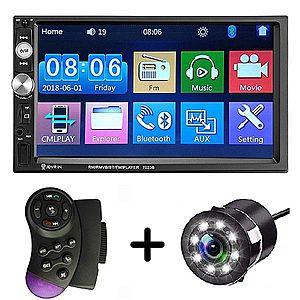 MP5 Player Auto Universal 7023B Camera de Marsarier HD Ecran 7 Inch Bluetooth MirrorLink Android IoS imagine
