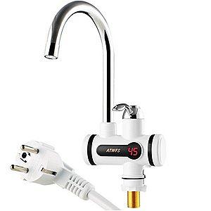 Robinet Electric cu incalzire instant pana la 60°C, 3000W, cu Afisaz Electronic DB imagine