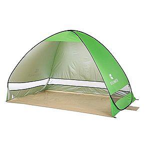Cort Pentru Plaja Verde Deschis Anti-UV Tip Pop-up pentru 2 Persoane Marime 200x120x130cm imagine