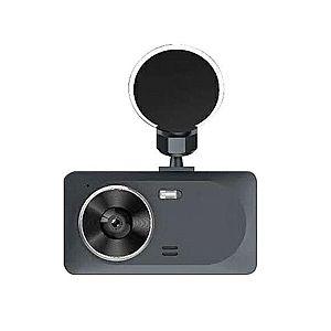Camera auto DVR RLDV-363 Techstar® FullHD 1080P 12 MPX DISPLAY IPS 3.2 INCH lentila dubla interior/exterior imagine