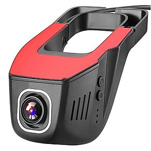 Camera Video Auto UltraHD 4K 2160P Discreta JunSun S690, 4MPx, Unghi 160 Grade, GPS Tracking, Control WiFi cu App imagine