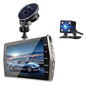 """Camera Video Auto DVR Dubla FullHD Techstar® T667 Unghi 170° Display 4"""""""", Senzori Miscare si Night Vision imagine"""