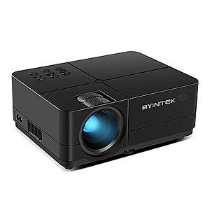 Videoproiector LED Byintek K7 FullHD, Home Cinema, 200 Lumeni, USB, 2x HDMI, AV, Jack Audio cu Focus imagine