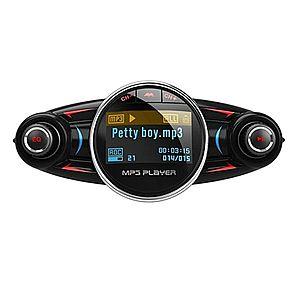 Modulator Transmitator FM Auto Techstar® BT-08, Bluetooth 4.0, Car Kit Handsfree, MP3 Player cu Display LED imagine