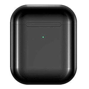Casti i9000 TWS AIR 2 Techstar®, Bluetooth 5.0, Wireless QI, Pentru Android si iOS, Negru imagine