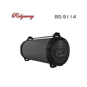 Boxa Portabila Bluetooth Ridgeway BS-9114/black imagine
