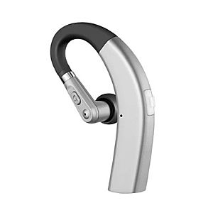 Casca Bluetooth Techstar® M11 Argintiu, Ultra Usor 10g, Comfortabil, HD, Noise Canceling, 10gr imagine